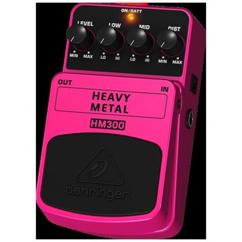 BEHRINGER Bh Hm300 Effetto Heavy Metal A Pedale Chit