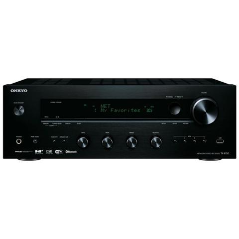 ONKYO Sintoamplificatore TX-8150 Sistema 2.0 Radio FM DAB+ Bluetooth Nero