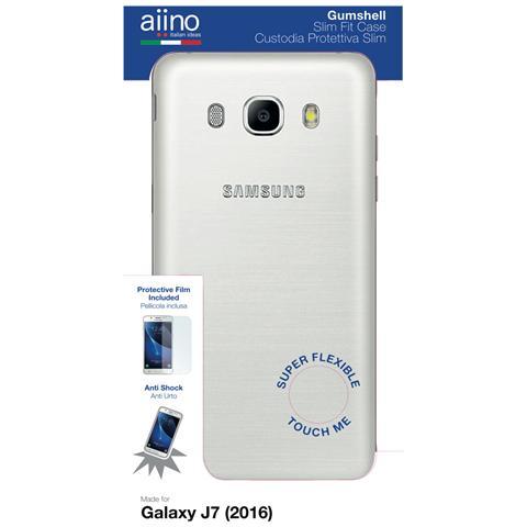 AIINO Custodia Gumshell per Samsung Galaxy J7 (2016) - Clear