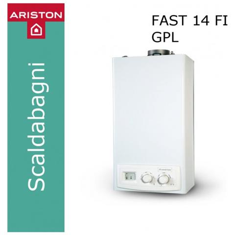 3677023 Scaldabagno Fast 14 Fi Gpl