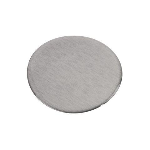 HAMA Piastra adesiva per supporto a ventosa, 85 mm, argento