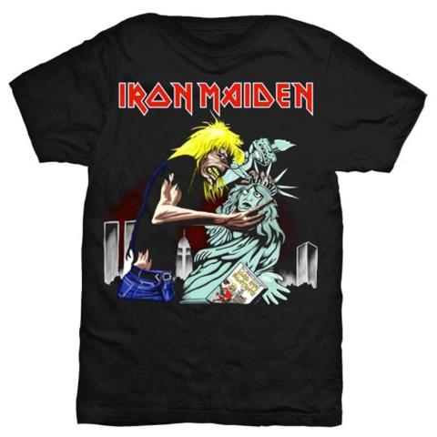 ROCK OFF Iron Maiden - New York (T-Shirt Unisex Tg. L)