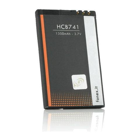 FONEX Batteria Li-Ion High Capacity 1350 mAh per Nokia 5800 / X6
