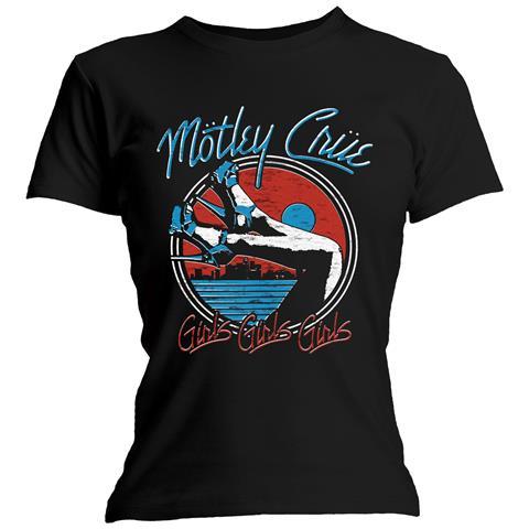 ROCK OFF Motley Crue - Heels V. 3. (T-Shirt Donna Tg. L)