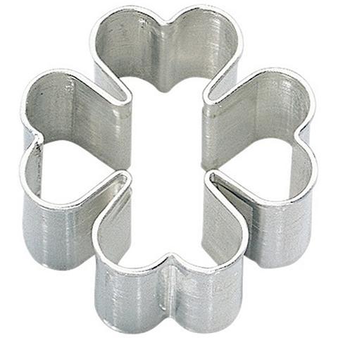 Tagliapasta In Metallo Quadrifoglio 6 Cm