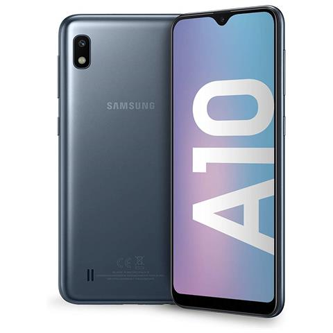 Image of Galaxy A10 Nero 32 GB 4G / LTE Dual Sim Display 6.2'' HD+ Slot Micro SD Fotocamera 13 Mpx Italia