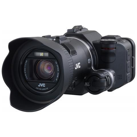 """JVC GC-PX100BEU, CMOS, 12,8 MP, 1/0,0906 mm (1/2.3"""") , 10x, 64x, 3,76 - 37,6 mm"""