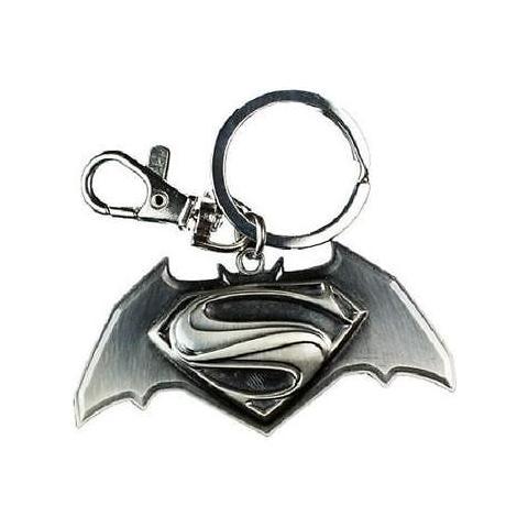 TimeCity Batman V Superman - Logo Black Pewter (Portachiavi)