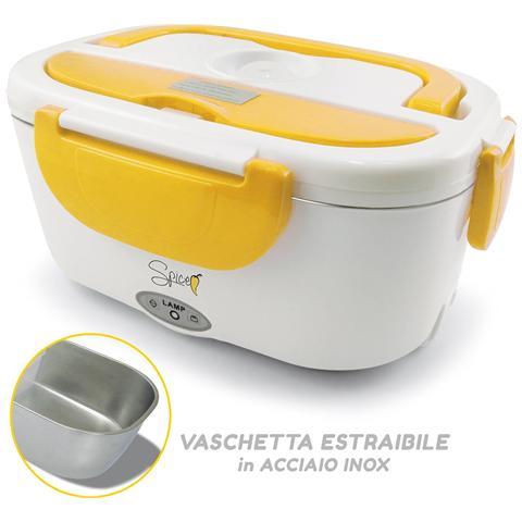 Scaldavivande Elettrico Portatile Con Vaschetta In Acciaio Inox Potenza 40 Watt Capacità 1 Lt