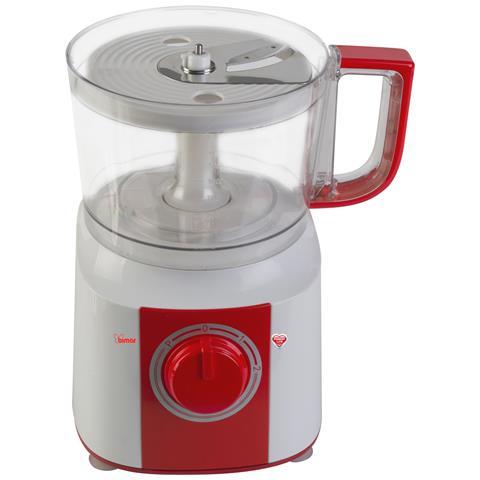 Robot da Cucina Potenza 700 Watt Colore Bianco e Rosso