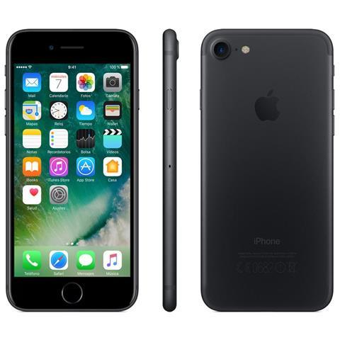 iPhone 7 32 GB Nero Caricatore con Spina Inglese