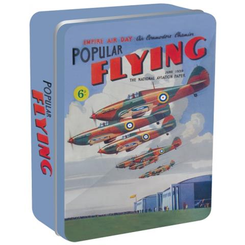 HALF MOON BAY Nostalgic Images - Popular Flying (scatola Metallica)