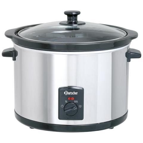 A100155 Pentola Scaldavivande elettrica per tenere il cibo caldo 5,5l