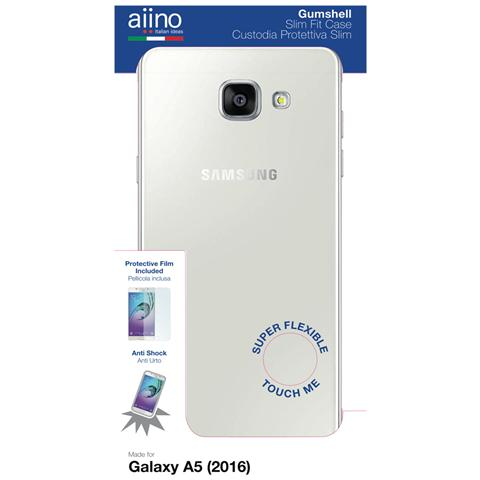 AIINO Custodia Gumshell per Samsung Galaxy A5 (2016) - Clear
