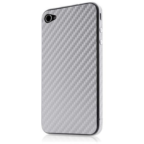 Belkin Skin adesiva finish argento - IPhone 4s