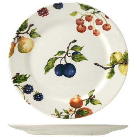 Ori Set 6 Piatti Fruit Season Frutta Cm20,9 Stoviglie