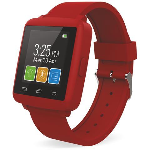 "Techmade Smartwatch M2 Mini Display 1.44"" Bluetooth Rosso – Italia"