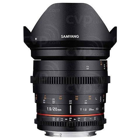 Obiettivo Samyang 20mm T1.9 Ed As Umc Cine (canon)