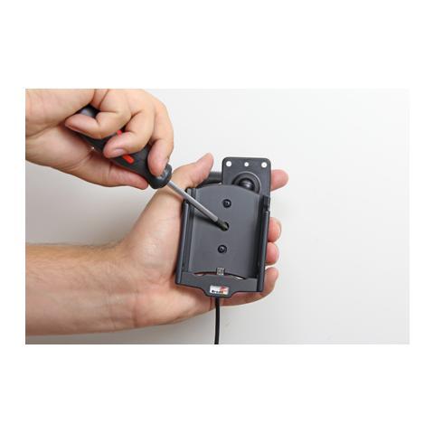 BRODIT 521797 Auto Active holder Grigio supporto per personal communication
