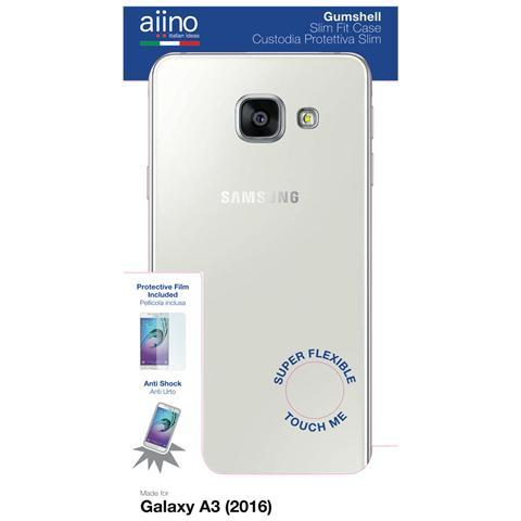 AIINO Custodia Gumshell per Samsung Galaxy A3 (2016) - Clear