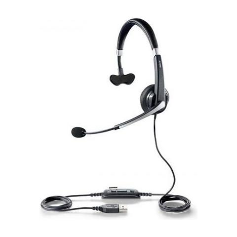 JABRA Cuffie Jabra UC Voice 550 CavoMono - Over-the-head - Semi-Aperto - Nero - USB - Cancellazione del rumore, Riduzione di rumore