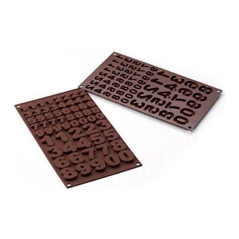 Silikomart Stampo cioccolato 123 easy choc 35x18mm h. 16mm 112.5ml silicone