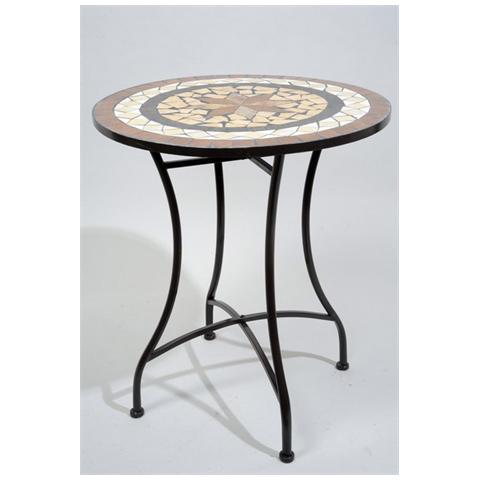 Ldm tavolo zircone basamento pietra vicenza prezzi e - Tavolo giardino mosaico prezzi ...