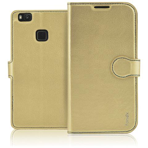 FONEX Flip Cover Custodia Identity per P10 Plus - Oro