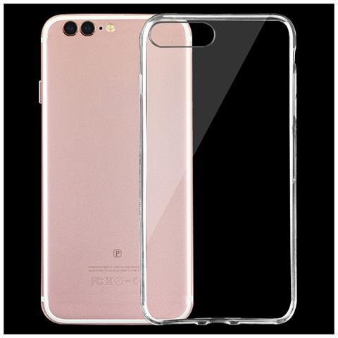 NetworkShop Custodia Cover Case Tpu Cover 0.75mm Trasparente Per Iphone 7 Plus