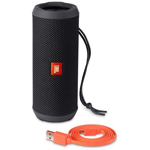 JBL Speaker Audio Portatile Flip 3 Bluetooth Impermeabile Potenza 2 x 8W colore Nero RICONDIZIONATO