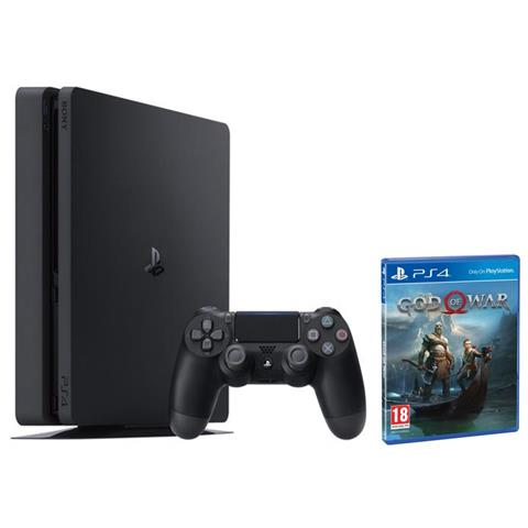 Image of Console Playstation 4 500 Gb Slim E Chassis Nero + God of War Limited Bundle