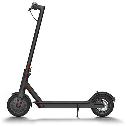 XIAOMI MI Electric Scooter monopattino elettrico pieghevole, velocità fino a 25 km / h e autonomia fino a 30Km, doppio impianto frenante Colore Nero