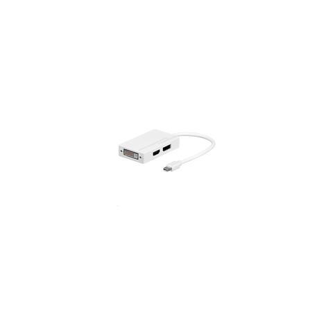 Microconnect MDPDVIHDMI, Mini Displayport, HDMI, DVI, Maschio / femmina, Bianco