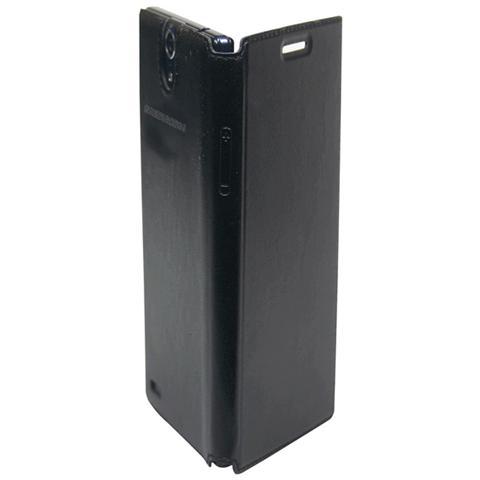 MEDIACOM Custodia Flip per Cellulare X500 Colore Nero