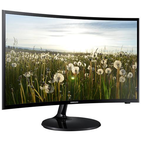 """SAMSUNG Monitor 32"""" Led Curvo V32F390 1920x1080 Full HD Tempo di Risposta 4 ms"""