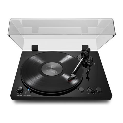 AKAI PROFESSIONAL BT100 Giradischi d'ascolto con connettività audio phono, line, bluetooth e USB