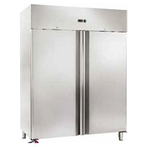 Armadio Refrigerato Congelatore Statico Gn2/1 Doppia Porta -18 / -22°c