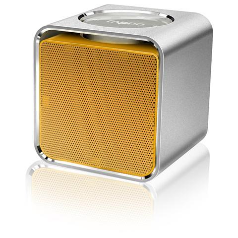 RAPOO Sistema Audio Portatile A300 Bluetooth / NFC colore Giallo
