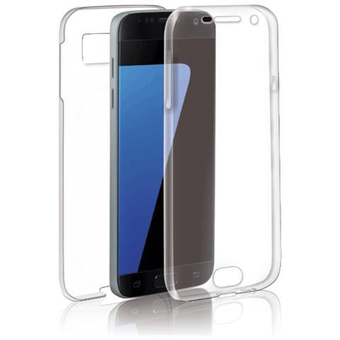 FONEX Specter Cover Fronte / Retro in TPU con Funzione 3D Touch per Galaxy S7 Colore Trasparente