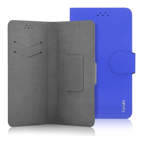"""FONEX Flip Cover Custodia Classic Detachable universale per 5.5"""" colore Blu"""