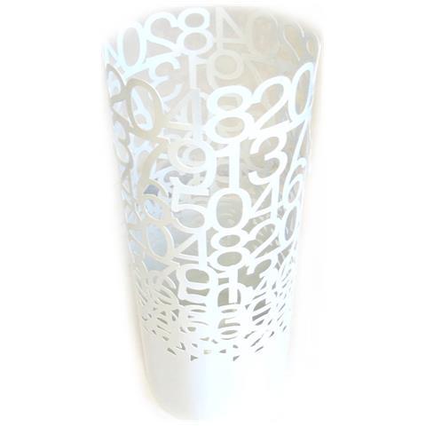 Les Trésors De Lily portaombrelli 'art déco' bianco (49 cm) - cifre - [ n2026]