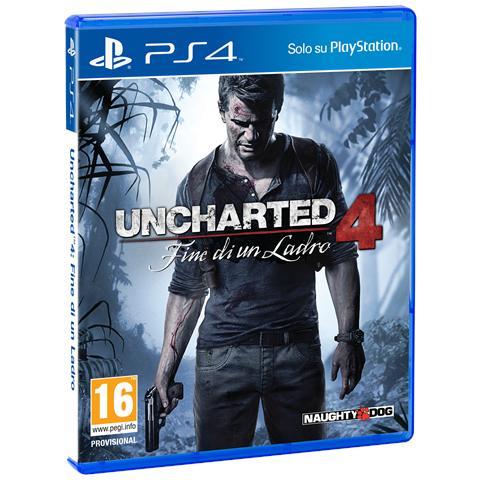 SONY PS4 - Uncharted 4: Fine di un Ladro