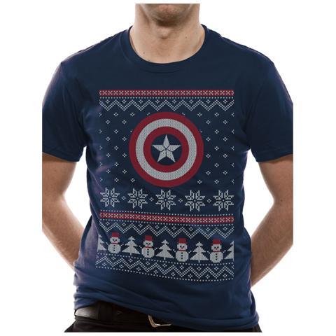 CID Civil War - Ca Fair Isle (T-Shirt Unisex Tg. S)