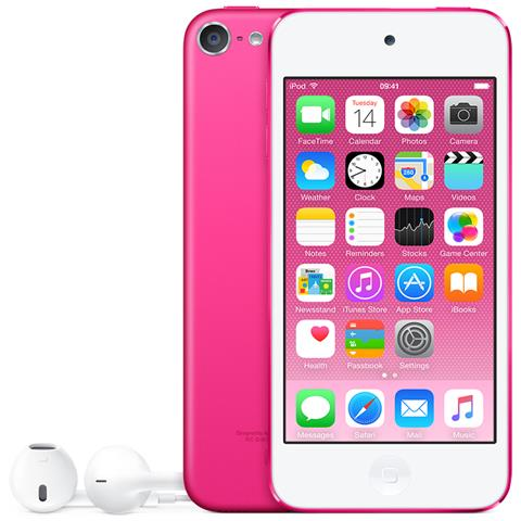 Image of iPod Touch 128GB Display Retina 4'' IPS Multi-Touch Fotocamera 8Mpx con AirPlay iCloud Bluetooth / Wi-Fi Colore Rosa
