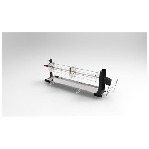 Girarrosto Ferraboli Mod. Caminetto Satellite Con 4 Lance Cm 100