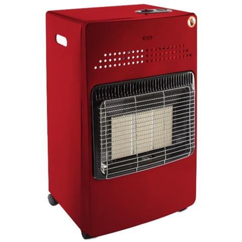 Hanna Red Stufa a Gas Potenza 4100 Watt 120 m3 Riscaldabili Colore Bordeaux