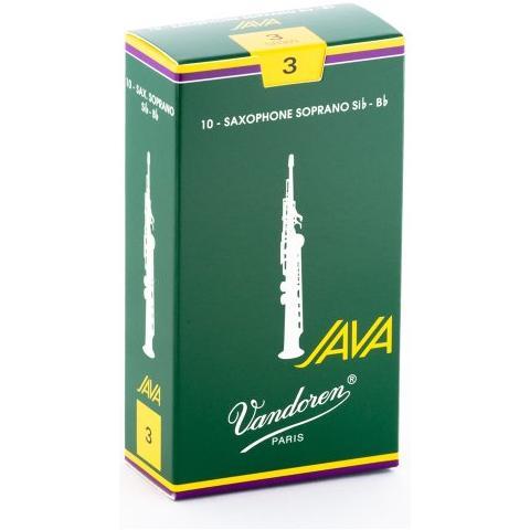 Vandoren Ance per Sassofono Confezione Pz 10 Soprano N. 3