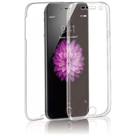 FONEX Specter Cover Fronte / Retro in TPU con Funzione 3D Touch per iPhone 6 Plus / 6S Plus Colore Trasparente