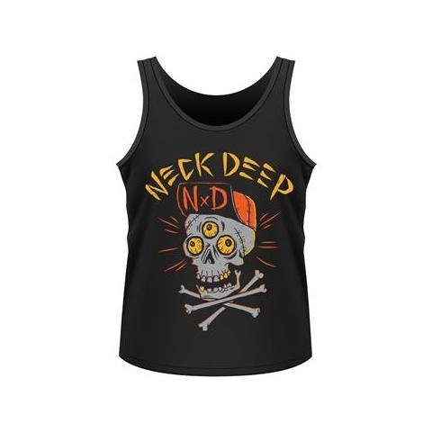 PHM Neck Deep - Skulls (Canotta Unisex Tg. L)