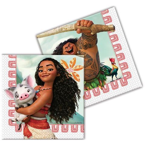 Disney Tovaglioli Carta Oceania 33x33 Cm, Festa Compleanno Ps 08356